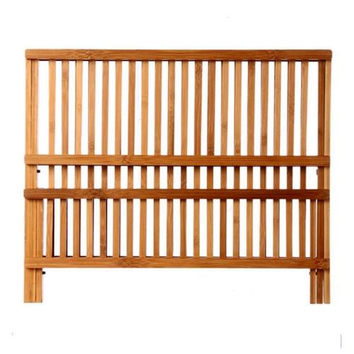 gouttoir vaisselle bambou pliable 34 assiettes maison fut e. Black Bedroom Furniture Sets. Home Design Ideas