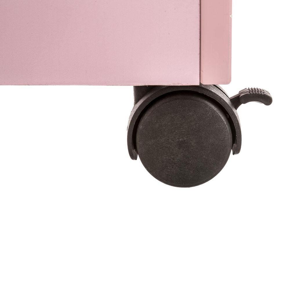 Coffre de rangement roulettes rose maison fut e - Coffre de rangement sur roulettes ...