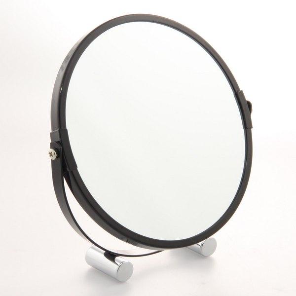 Miroir sur pied 2 faces pivotantes 16 cm maison fut e for Miroir double face