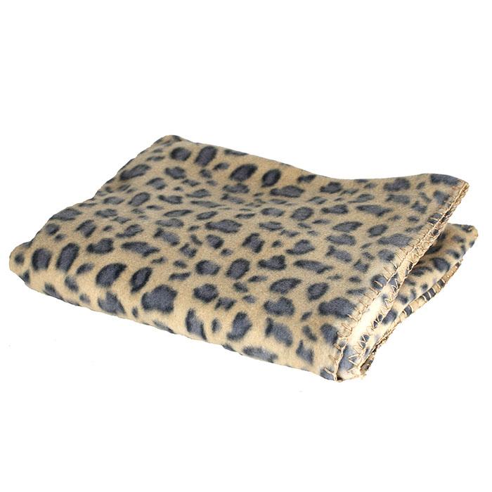 couverture plaid polaire 140 x 110 cm motif jaguar maison fut e. Black Bedroom Furniture Sets. Home Design Ideas