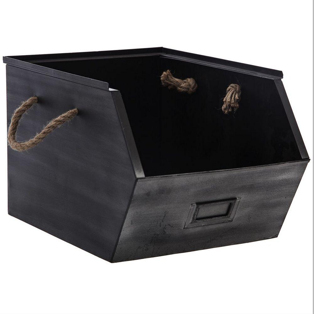 casier de rangement m tal gris maison fut e. Black Bedroom Furniture Sets. Home Design Ideas