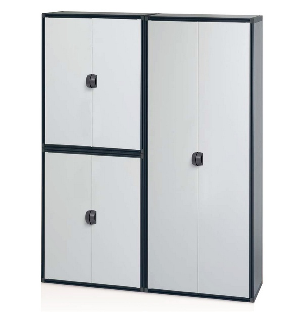 armoire basse en r sine 2 portes maison fut e. Black Bedroom Furniture Sets. Home Design Ideas