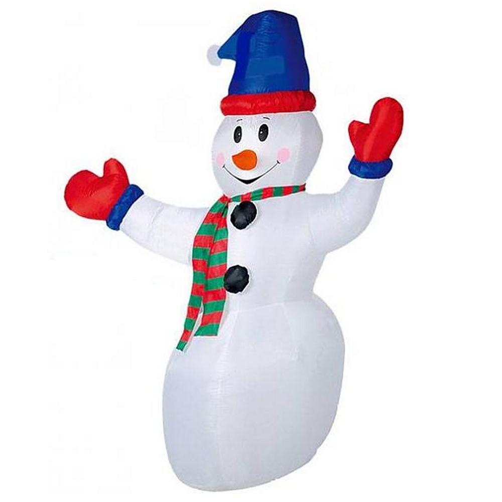 Bonhomme de neige gonflable xxl 240 cm maison fut e for Kuchenschranke 240 cm