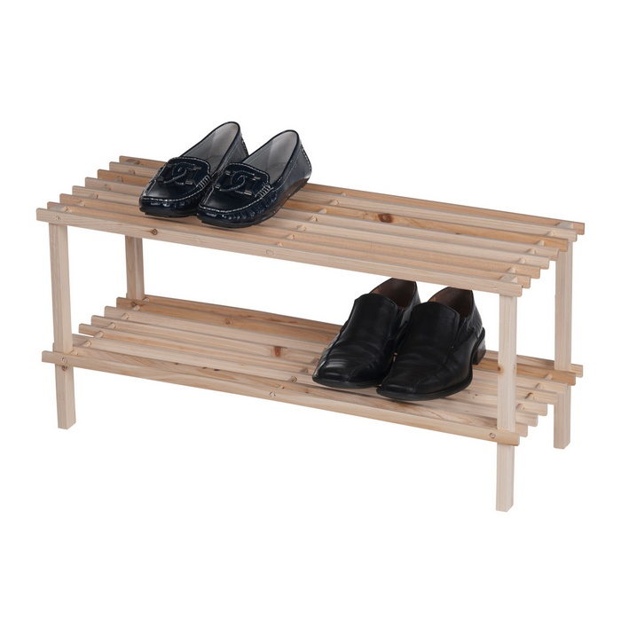 tag re chaussures en pin massif 8 paires maison fut e. Black Bedroom Furniture Sets. Home Design Ideas