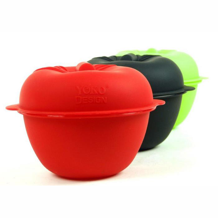 cuit pomme silicone rouge