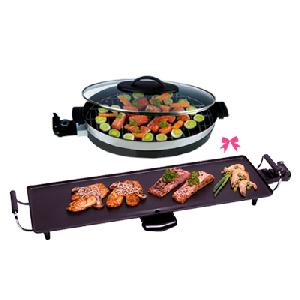 Grill teppanyaki et grill faitout