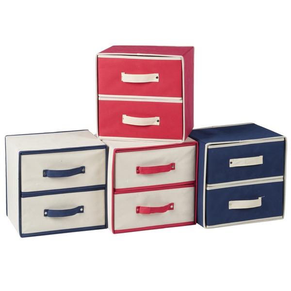 casier de rangement 2 tiroirs maison fut e. Black Bedroom Furniture Sets. Home Design Ideas