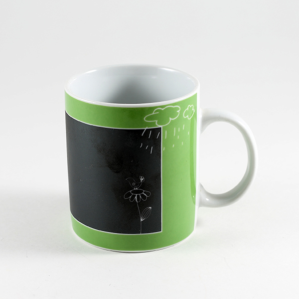 mug avec ardoise messages vert maison fut e. Black Bedroom Furniture Sets. Home Design Ideas
